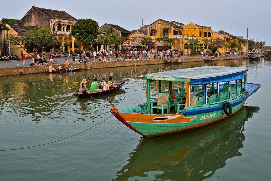 Hoi An River Sightseeing